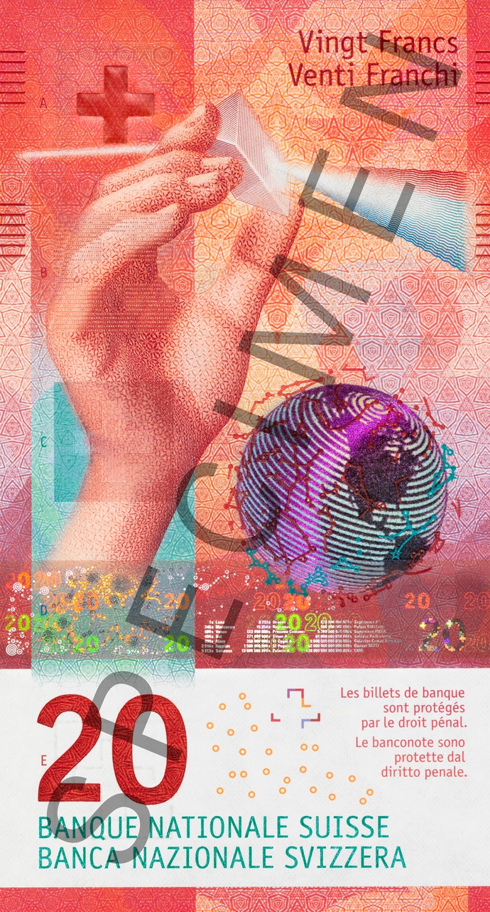 Swiss National Bank (SNB) - The design of the new banknotes