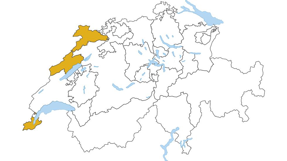 Swiss National Bank (SNB) - Regions