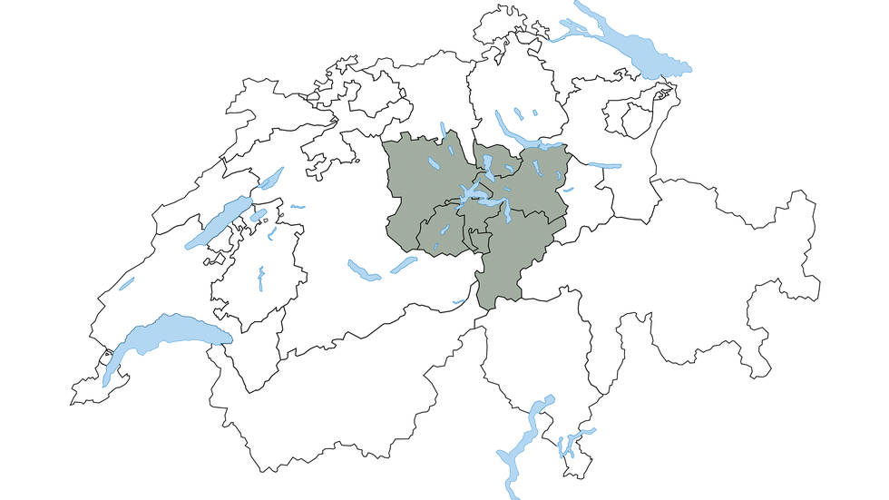 Central Switzerland region