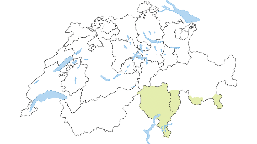 Italian-speaking Switzerland region