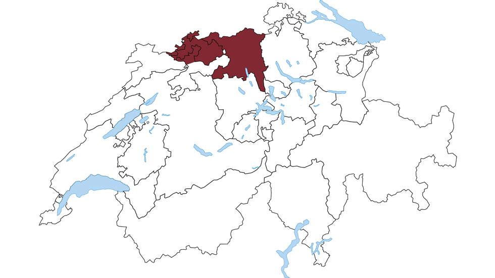 Regione Svizzera nord-occidentale