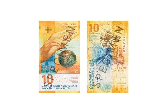Schweizer Banknoten Neu