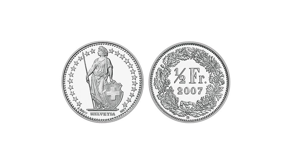 Schweizerische Nationalbank Snb Die Münzen